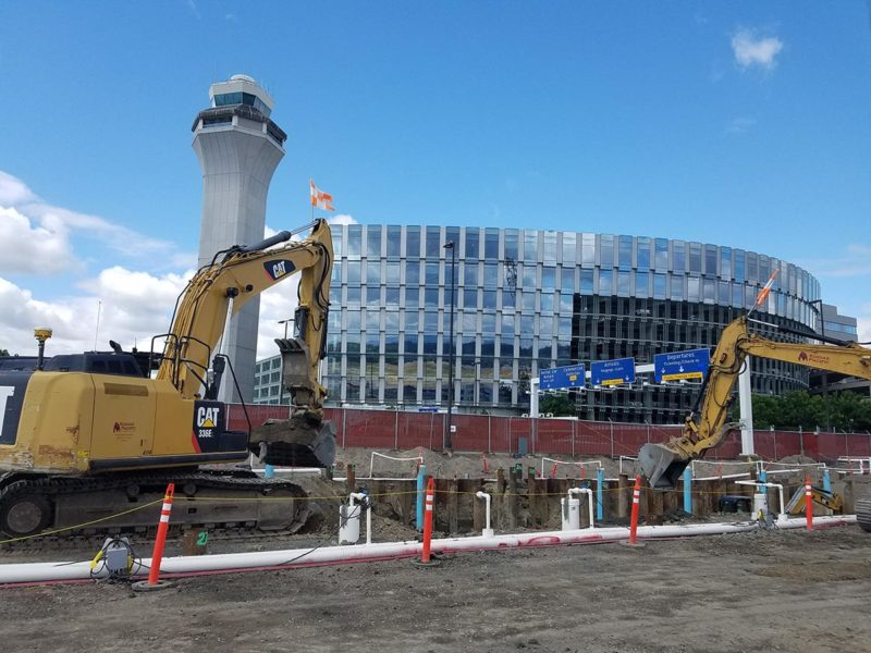 Construction Photo - Portland Airport Concourse E Extension