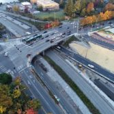 Aerial photo: SR-520 Montlake to Lake Washington project 3