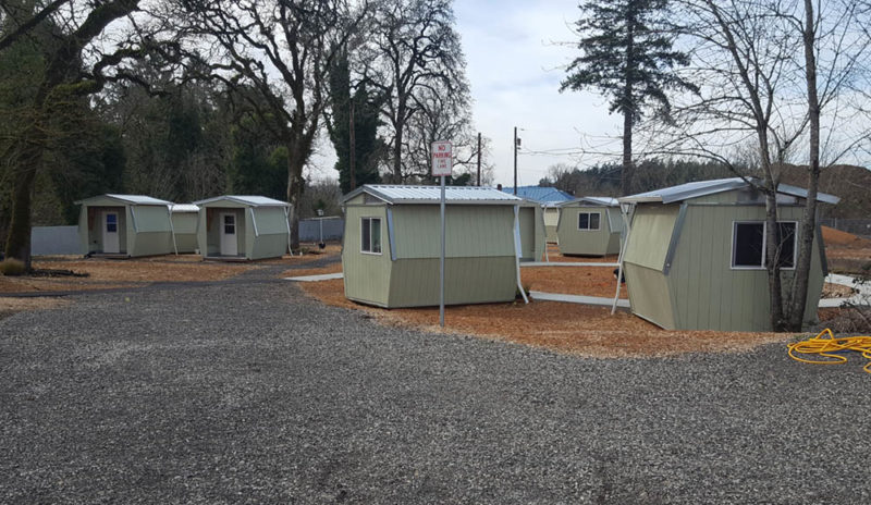 Project Photo: Pod Housing for Homeless Veterans