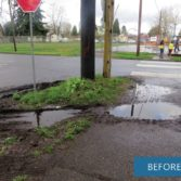 Kelso Safe Routes to School : Before Photo1