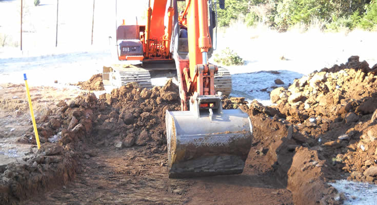 Coos County Natural Gas Pipeline: Project photo 1