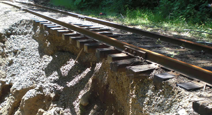 Port of Tillamook Bay Railroad Restoration: Project photo 3